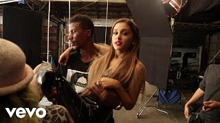 "Ariana Grande & The Weeknd - Love Me Harder (Behind The Scenes) Get Ariana Grande + The Weeknd ""Love Me Harder"" now http://smarturl.it/iLoveMeHarder ..."
