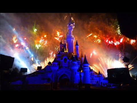Enchanted Fireworks 2011- Disneyland Paris