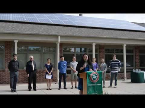 Rowland Hall Rooftop Solar Press Conference 5/12/15