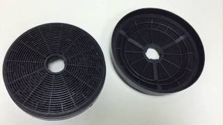 How to fit a Caple CAP61CF charcoal filter for CGC610, CGC710, CGC9...