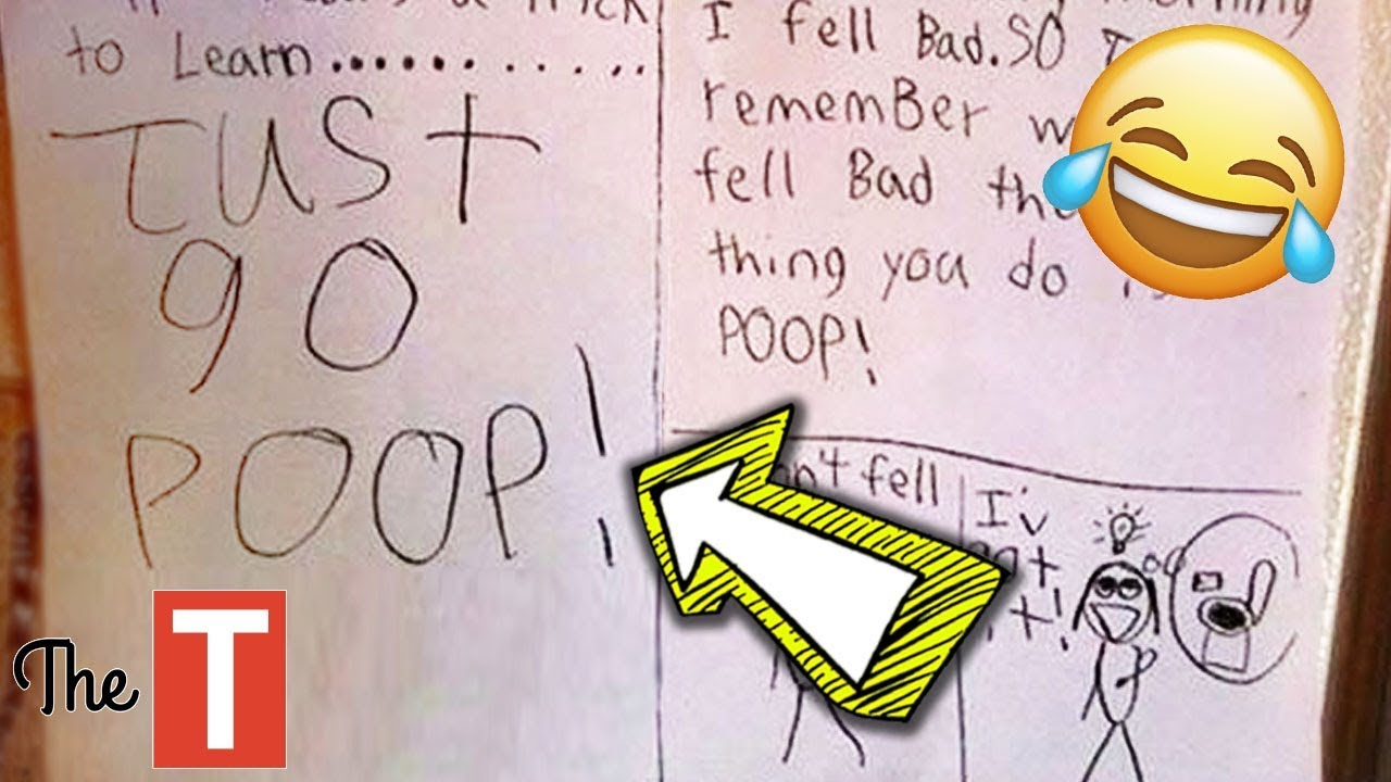 20 Most Inappropriate But Innocent Kid Test Answers