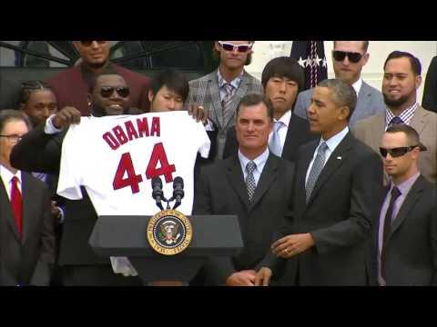 David Ortiz , Big Papi pops a selfie with President Obama