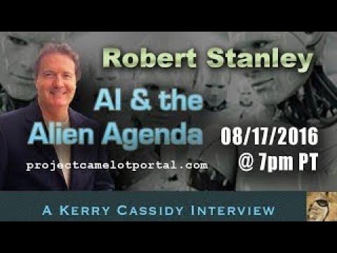 ROBERT STANLEY AI & THE ALIEN AGENDY | 2017