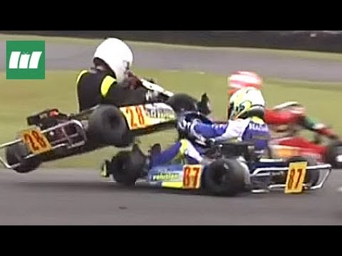 Kart Crash Compilation Ⅰ ★ Best Of British Karting Championships Racing