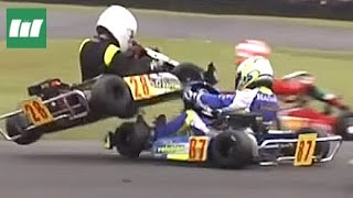 Kart Race Crash & Fail Compilation Ⅰ ★ Best of British Karting Championship Racing