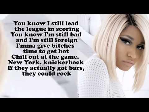 Nicki Minaj - Boss Ass Bitch (Lyric)
