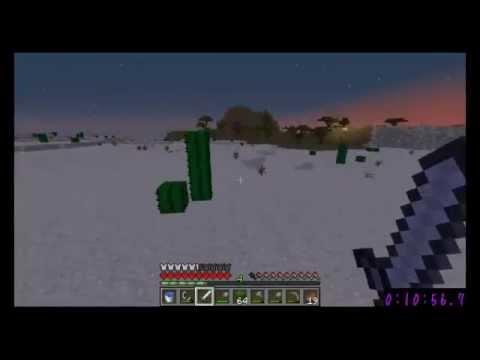 Minecraft Any% Random Seed Glitchless Speedrun (33:33)