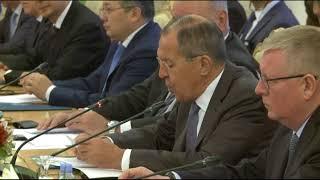 С.Лавров на Совещании министров иностранных дел прикаспийских государств