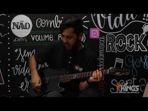 Guitarra Squier Fender Avril Lavigne Telecaster Skull Black (Review) - V.kings O Mundo da Música.