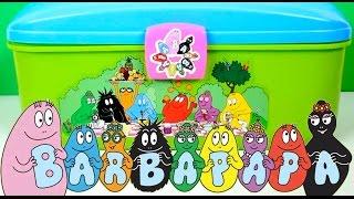 Play Doh Barbapapa Molds and Shapes Carry Case Play Dough Picnic Set Barbapapá Barbapapa Family