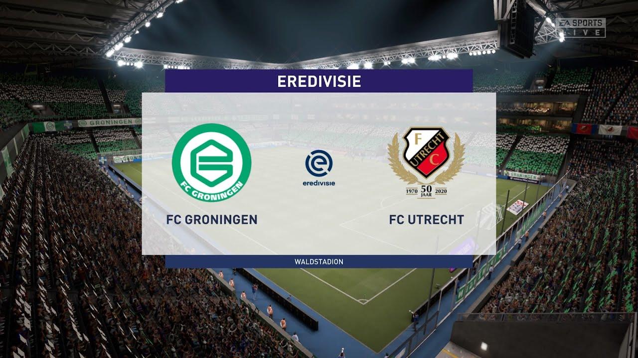 Fifa 21 Fc Groningen Vs Fc Utrecht Netherlands Eredivisie 18 10 2020 1080p 60fps Youtube