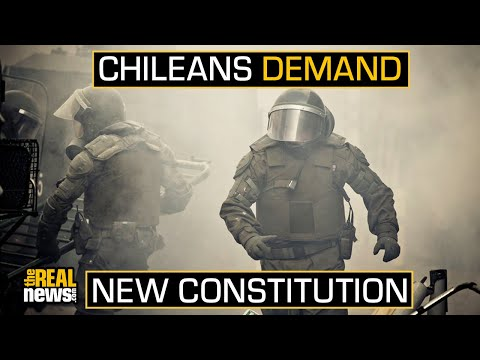 Chileans Demand New Constitution as Protests Continue