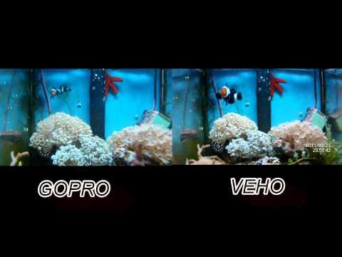 GOPRO VS VEHO HD 10