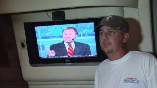 tracvision satellite tv on sea ray boats kvh industries inc