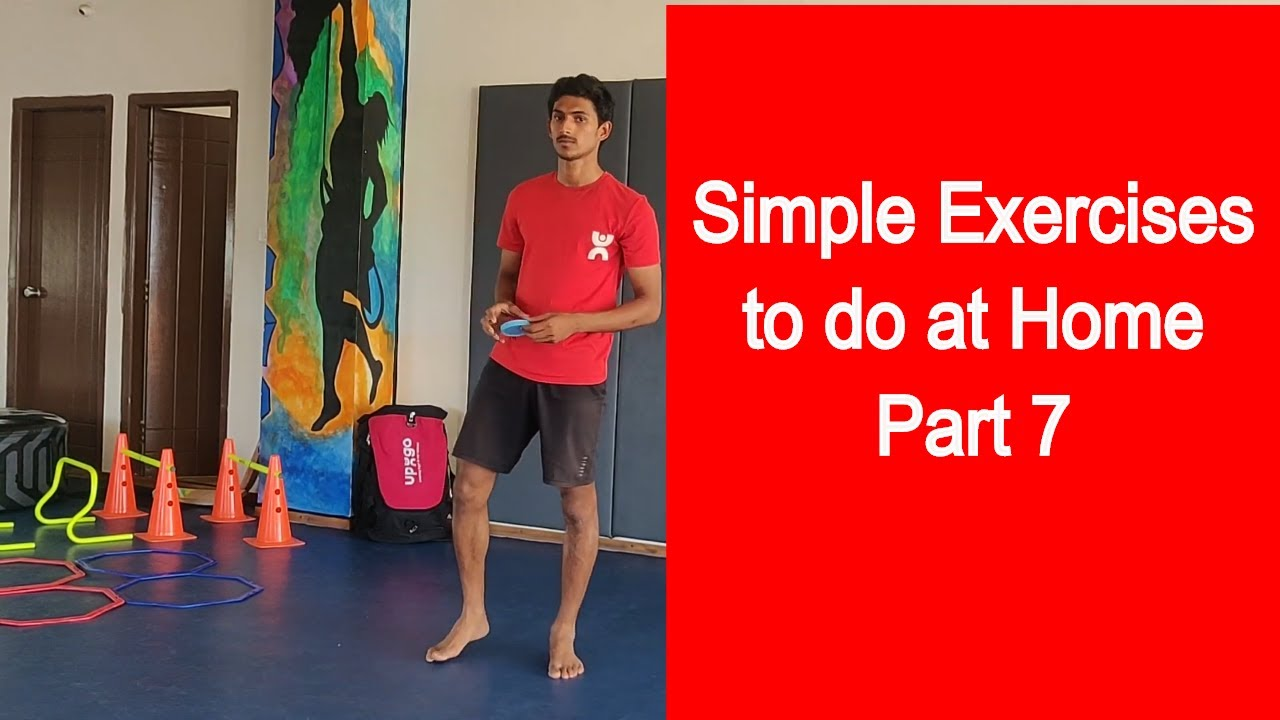 Simple Exercises To Do At Home Part 7 Simple Exercises For Kids Kids Exercise Video 2020 Youtube