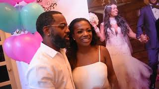 Shamea's Gender Reveal Party RHOA Cast Member's Kandi Porsha & Cynthia Support