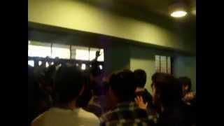 Guerra civil Liceo de Aplicacion 2014