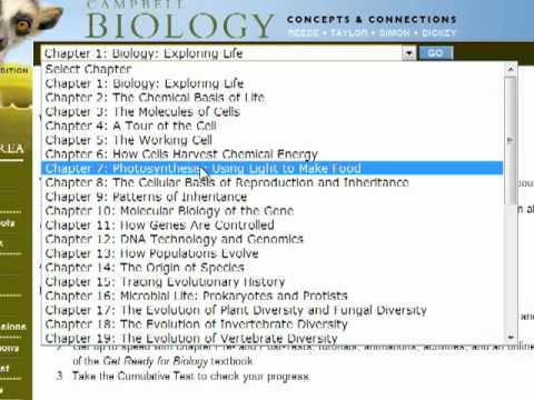 how to use the new campbell biology e book and study area youtube rh youtube com campbell biology 9th edition study guide pdf campbell biology 10th edition study guide