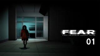 【最恐ホラーFPS】 F.E.A.R. Gameplay Walkthrough - Part 1 - Interval 01