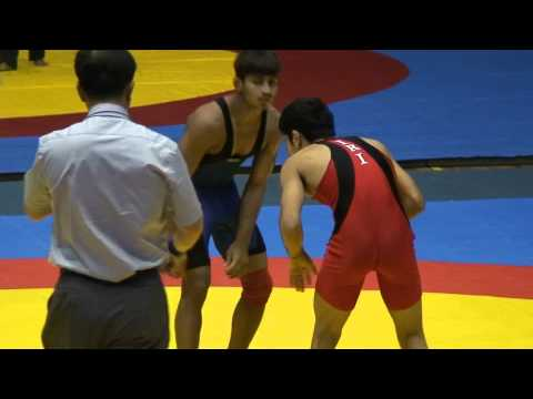 Freestyle Wrestling - India vs. Iran