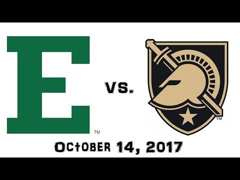 October 14, 2017 - Eastern Michigan Eagles Vs. Army Black Knights Full Football Game 60fps