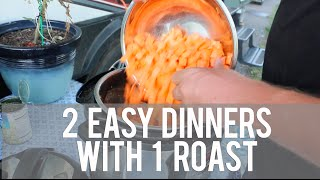 2 Healthy & Easy Meals w/ 1 Roast: RV Meals of a Full-time Traveling Family