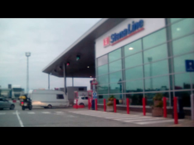 Birkenhead to Belfast Stena line part 1