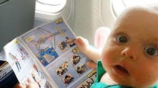 10 ЗАГАДОК о Полёте на Самолёте!
