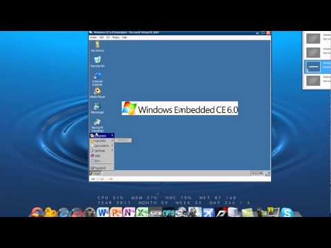 Windows CE 6.0 Embedded (Personal Digital Assistant) In Microsoft Virtual PC 2007