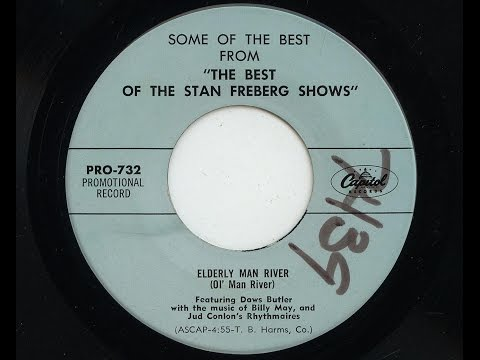 Stan Freberg 'Elderly Man River' 1957 45 rpm
