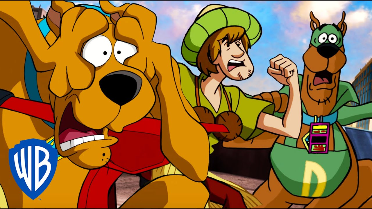 Scooby-Doo! | Scooby and Shaggy On The Run! 😱| WB Kids