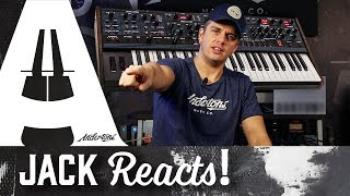 Jack Reacts! - Dave Smith OB6 Keyboard