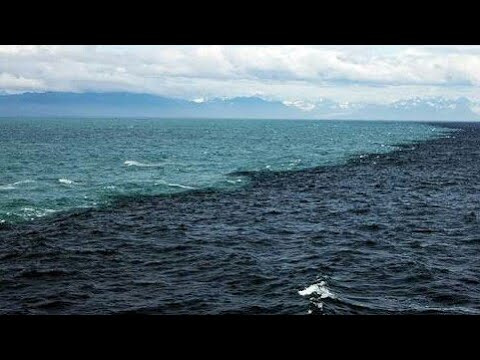 ATLANTIC AND PACIFIC OCEAN MEET AT A POINT OF MID OCEAN BUT WON'T MIX EACH OTHER
