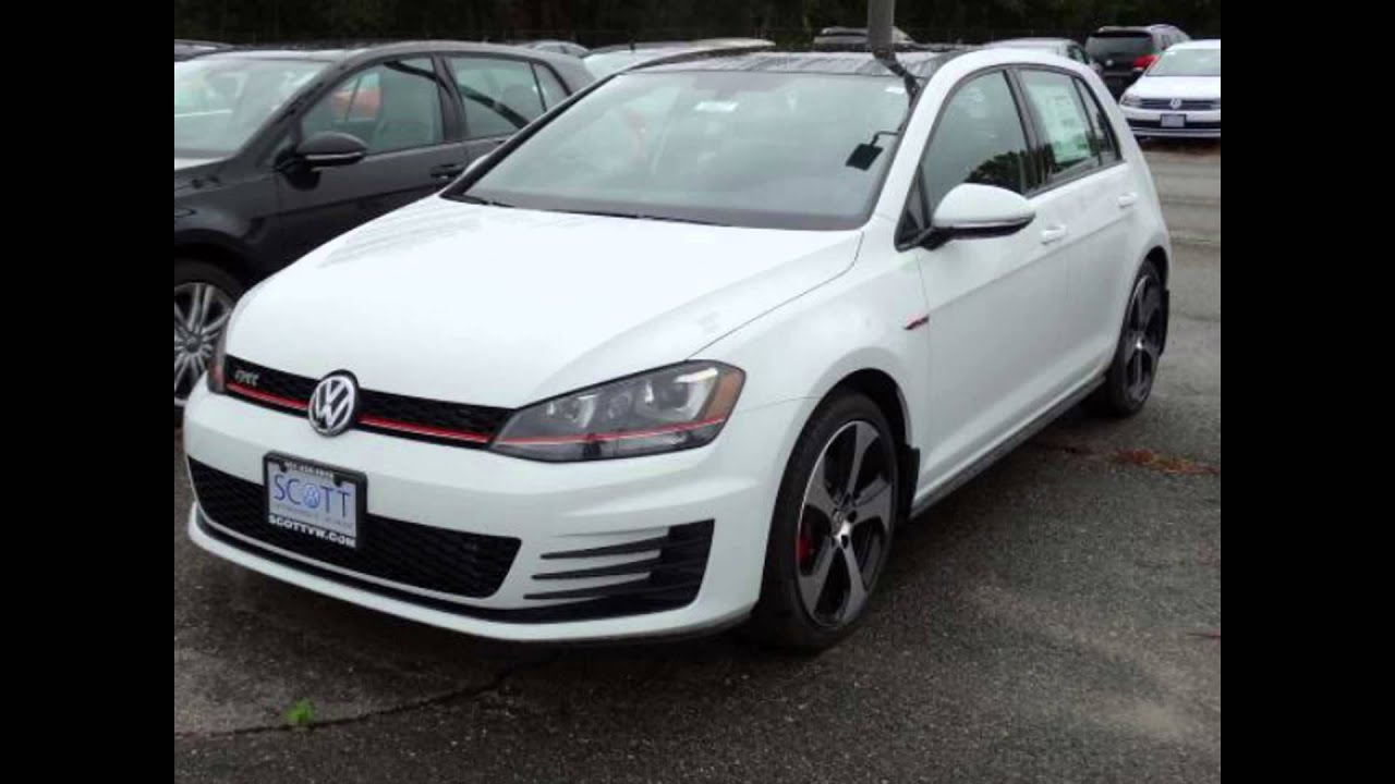 2016 volkswagen golf gti pure white youtube. Black Bedroom Furniture Sets. Home Design Ideas