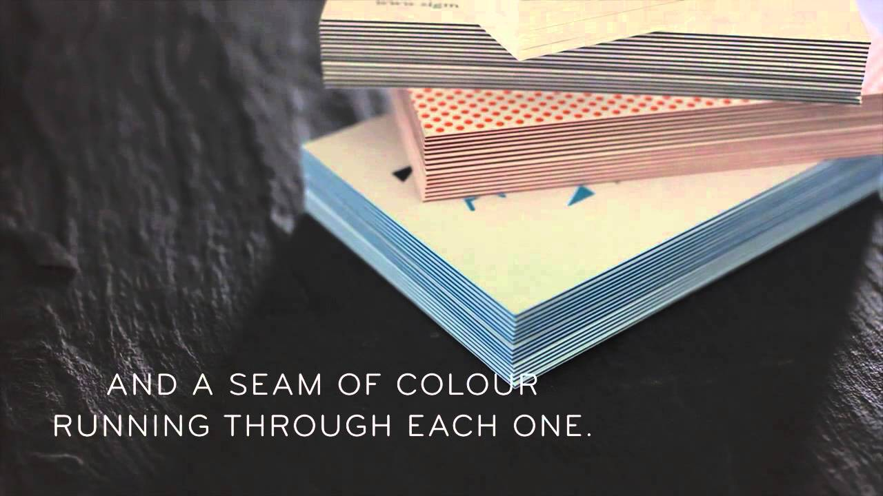Stand out with MOO | Luxe Business Cards UK - YouTube