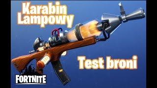 Karabin Lampowy - test broni. Fortnite: Ratowanie Świata