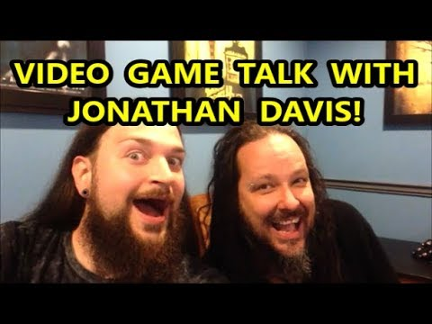 VIDEO GAME TALK WITH JONATHAN DAVIS OF KORN!  Scottsquatch