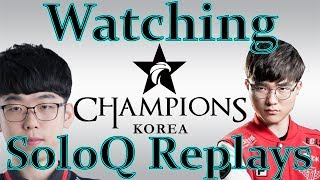 How to watch Korean Pros' SoloQ replays.