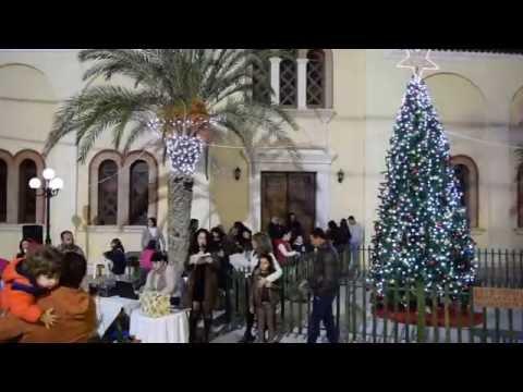 Χριστουγεννίατικες Εκδηλώσεις Παλαίκαστρο 2016