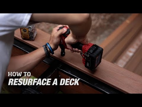 How to Resurface a Wood Deck with Composite Decking