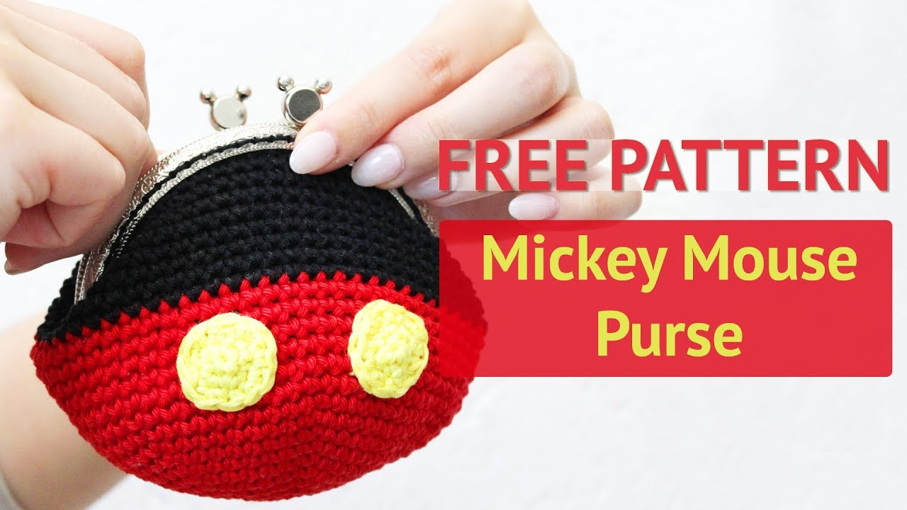Crochet Mickey Mouse Ornament - Red Ted Art - Make crafting with ... | 720x1280