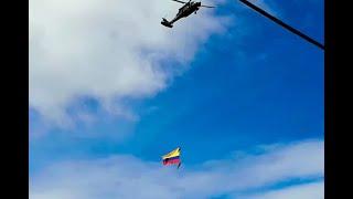 Investigan causas del accidente en el que murieron militares en exhibición de la Feria de las Flores