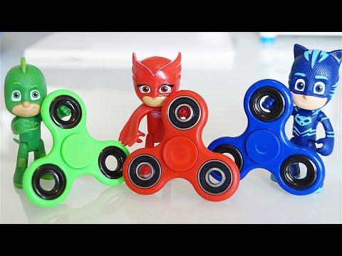 I Pj Masks Super Pigiamini e i Fidget Spinner modificati da Romeo [Storia]