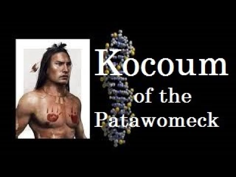Kocoum of the Patawomeck Tribe