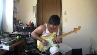 IMPELLITTERI【Rat Race(Guitar Solo)】動画を撮ってみました。 凄く速...