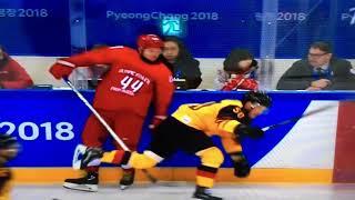 Россия vs Германия 3-3 овертайм