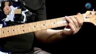 The Doors - Break On Through (como tocar - aula de guitarra)