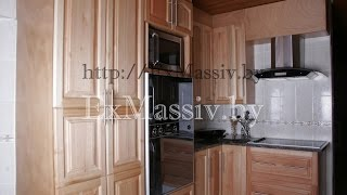 Изготовление Кухни из массива клена, Production of Kitchen from solid maple ExMassiv.by(http://exmassiv.by +37529-655-99-91 Изготовление кухни от 20 дней под заказ. Изготовление Кухни из массива клена, Production of..., 2015-04-04T06:34:29.000Z)