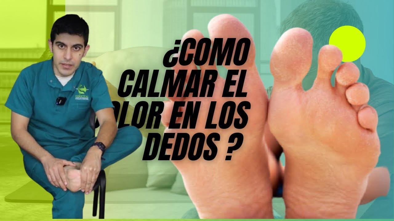 Cómo quitar el dolor de los dedos de los pies 🦶