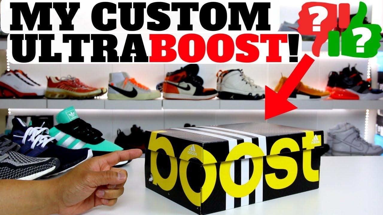 UNBOXING  My Custom UltraBOOST I Made On MiAdidas!! - YouTube eca4fa7c9